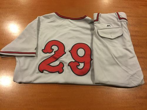 Photo of Brandon Finnegan Game-Used Cincinnati Tigers Uniform