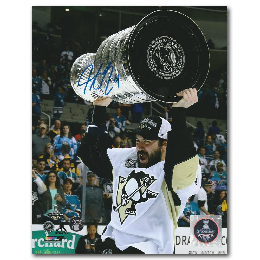 Justin Schultz Autographed Pittsburgh Penguins 8X10 Photo