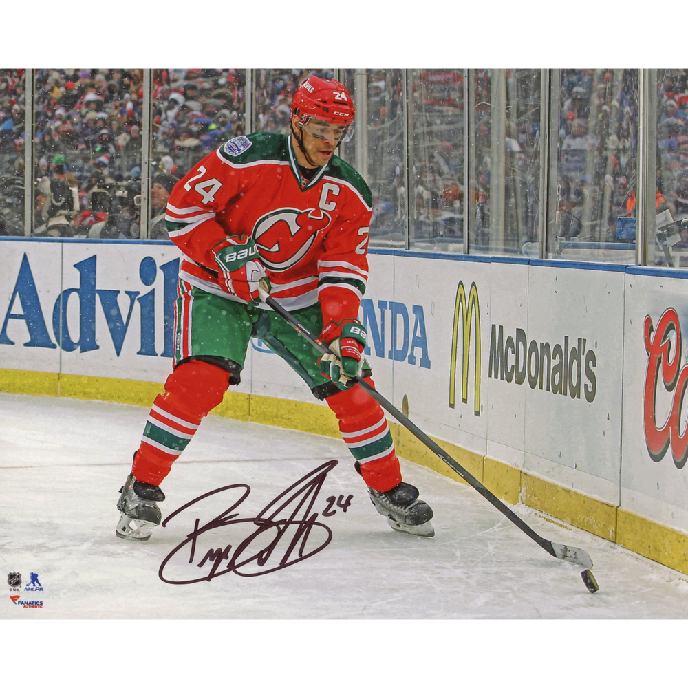 Bryce Salvador New Jersey Devils Autographed Stadium Series 8