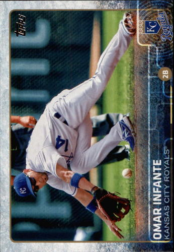 Photo of 2015 Topps #419 Omar Infante