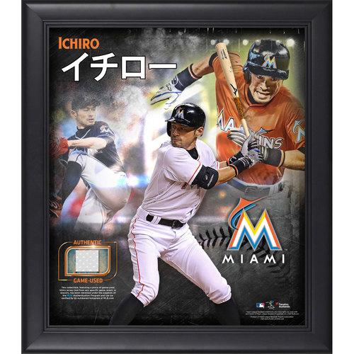 Photo of Ichiro Suzuki Jersey Frame