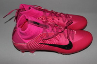 Cardinals - Tyvon Branch game issued BCA cleats