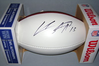 CHARGERS - KEENAN ALLEN SIGNED PANEL BALL