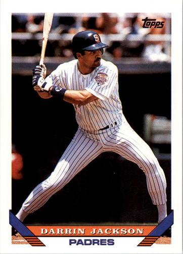 Photo of 1993 Topps #761 Darrin Jackson