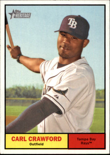 Photo of 2010 Topps Heritage #289 Carl Crawford