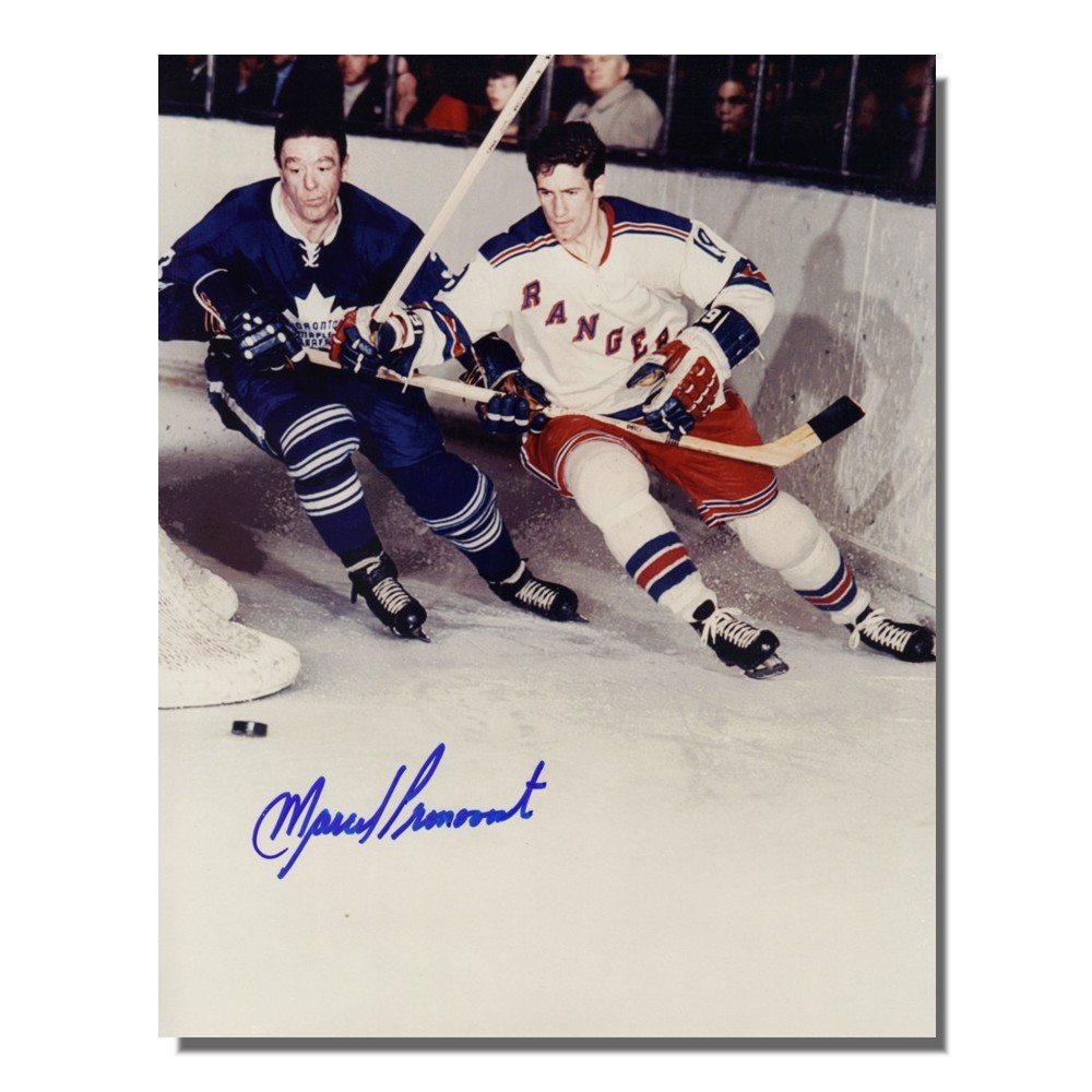 Marcel Pronovost (deceased) Autographed Toronto Maple Leafs 8x10 Photo