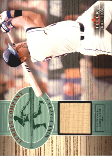 Photo of 2002 Fleer Tradition Lumber Company Game Bat #19 Mike Piazza