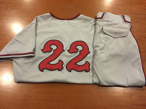 Photo of Billy Hatcher Game-Used Cincinnati Tigers Uniform