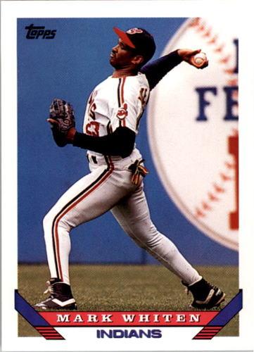 Photo of 1993 Topps #277 Mark Whiten