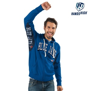 Toronto Blue Jays Hands High On Deck Full Zip Fleece Hoody by G3