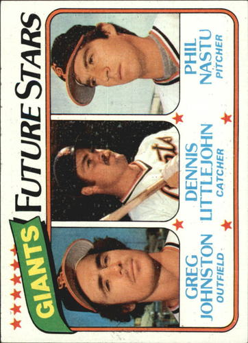 Photo of 1980 Topps #686 Greg Johnston/Dennis Littlejohn RC/Phil Nastu RC