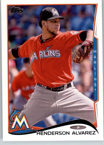 Photo of 2014 Topps #241 Henderson Alvarez