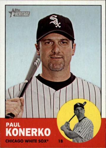 Photo of 2012 Topps Heritage #100A Paul Konerko