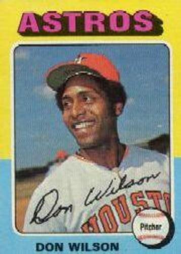 Photo of 1975 Topps #455 Don Wilson