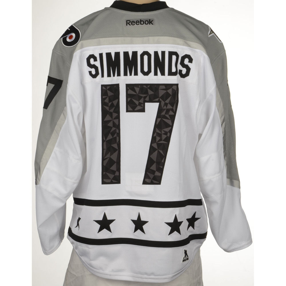 Wayne Simmonds Philadelphia Flyers 2017 All-Star Game-Used Jersey
