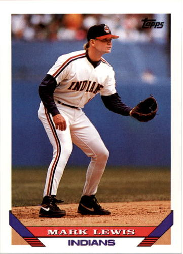 Photo of 1993 Topps #762 Mark Lewis
