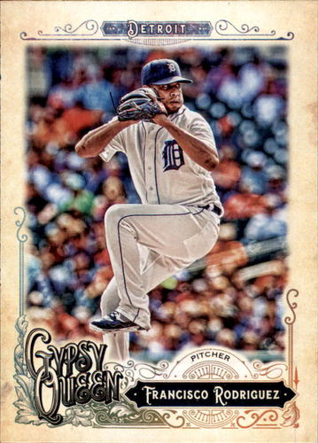 Photo of 2017 Topps Gypsy Queen #185 Francisco Rodriguez