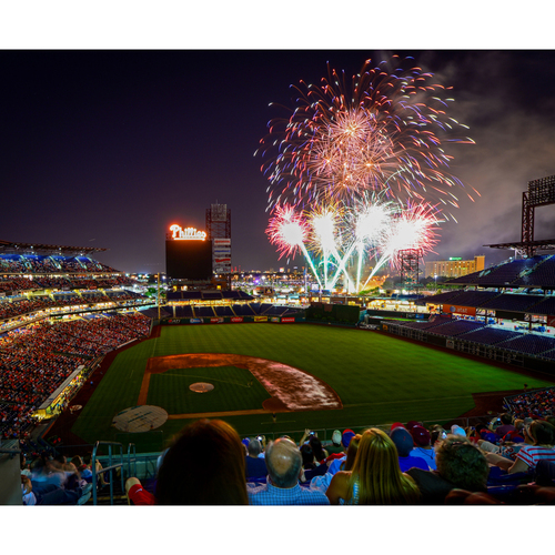 Photo of Diamond Club and Dugout XFINITY Fireworks Experience Thursday, July 6, 2017