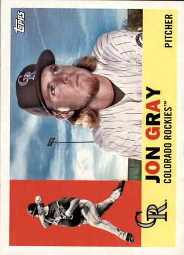 Photo of 2017 Topps Archives #37 Jon Gray