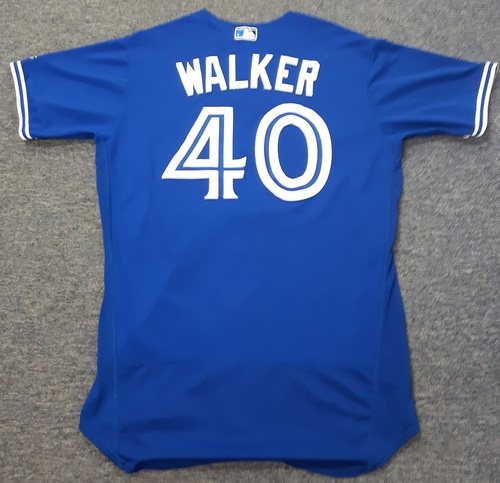 Authenticated Team Issued Jersey - #40 Pete Walker (2017 Season). Size 46.
