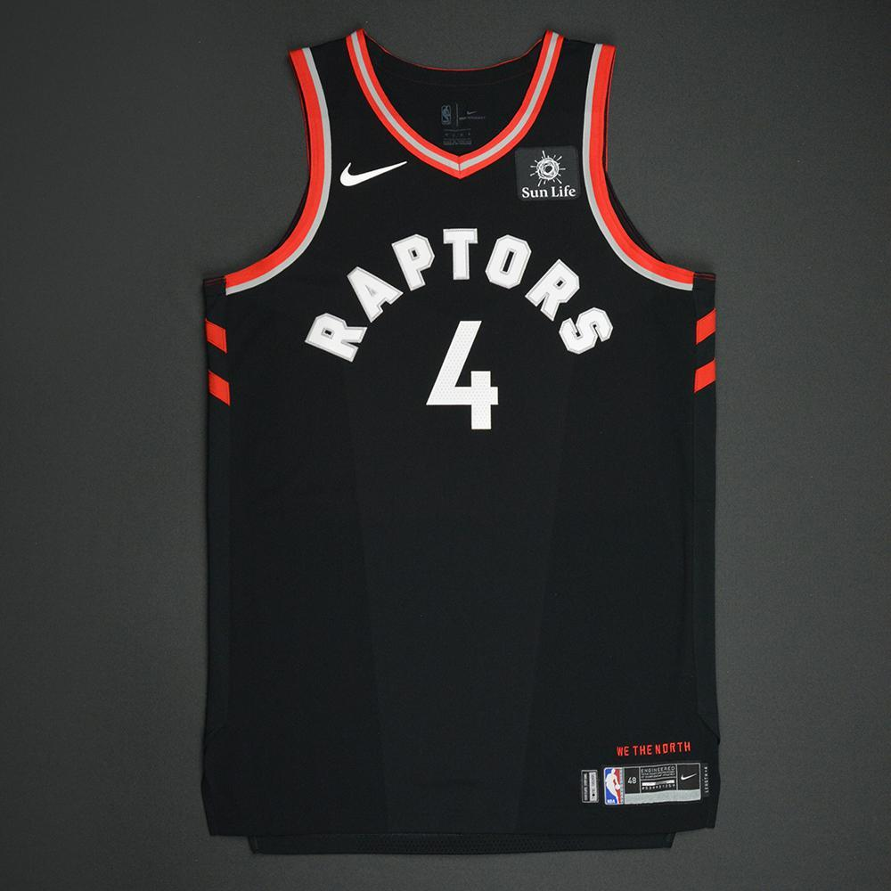 Lorenzo Brown - Toronto Raptors - Statement Game-Worn Jersey  - 2017-18 Season