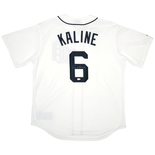 Photo of Detroit Tigers Al Kaline Autographed Replica Jersey