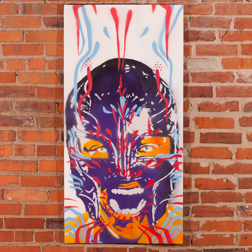 Rey Mysterio Champions Collection Painting by Rob Schamberger