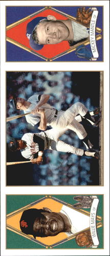 Photo of 1993 Upper Deck All-Time Heroes #137 Mickey Mantle/Willie Mays