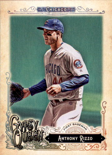 Photo of 2017 Topps Gypsy Queen #50A Anthony Rizzo