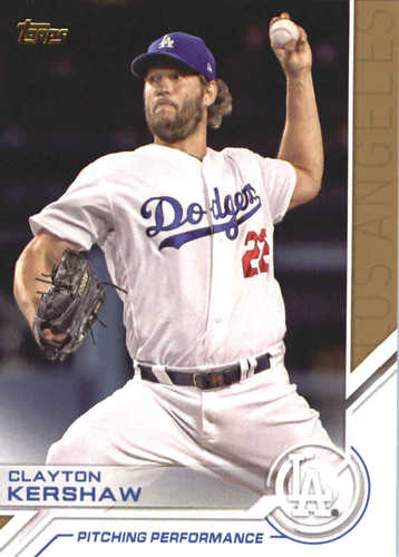Photo of 2017 Topps Update Salute #USS10 Clayton Kershaw
