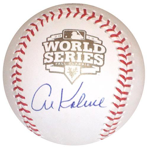 Detroit Tigers Al Kaline Autographed World Series Baseball