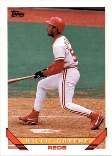 Photo of 1993 Topps #764 Willie Greene