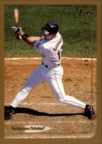 Photo of 1999 Topps #198 B.J. Surhoff