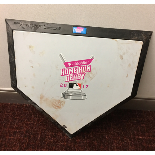 Photo of 2017 Home Run Derby Auction: Home Plate Used During Entire Derby