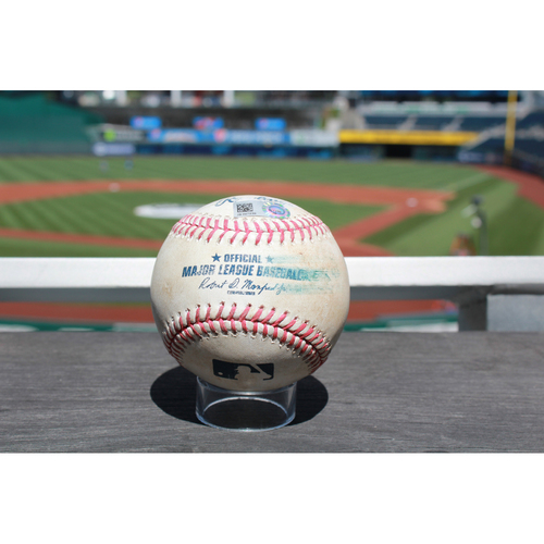 Photo of Game-Used Baseball: Jose Iglesias Single (4/21/16 DET at KC)