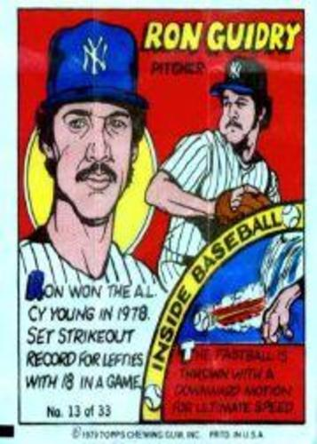 Photo of 1979 Topps Comics #13 Ron Guidry