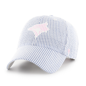 Toronto Blue Jays Women's Striped Clean Up Cap by '47 Brand