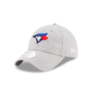 Toronto Blue Jays Ladies Preferred Pick Light Grey Cap by New Era