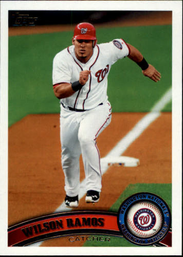 Photo of 2011 Topps Update #US295 Wilson Ramos