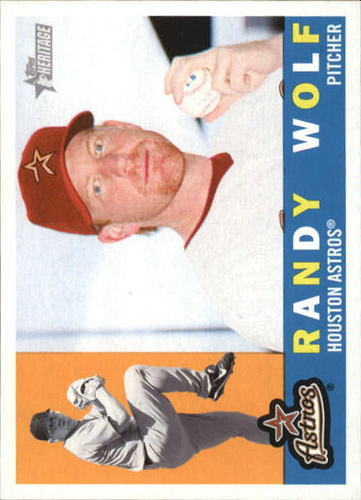 Photo of 2009 Topps Heritage #209 Randy Wolf