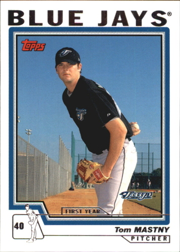 Photo of 2004 Topps Traded #T141 Tom Mastny FY RC