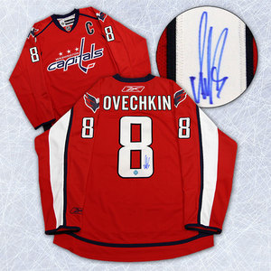 Alexander Ovechkin Washington Capitals Autographed Red Premier Hockey Jersey