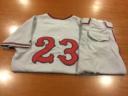 Photo of Adam Duvall Game-Used Cincinnati Tigers Uniform