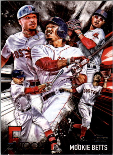 Photo of 2017 Topps Five Tool #5T6 Mookie Betts