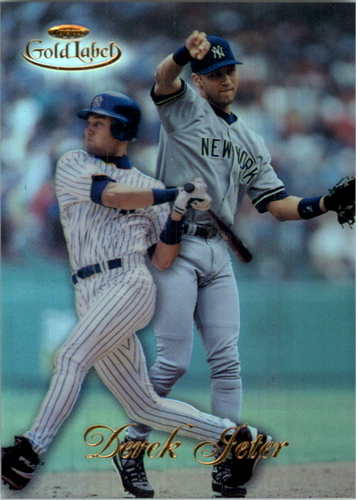 Photo of 1998 Topps Gold Label Class 1 #7 Derek Jeter