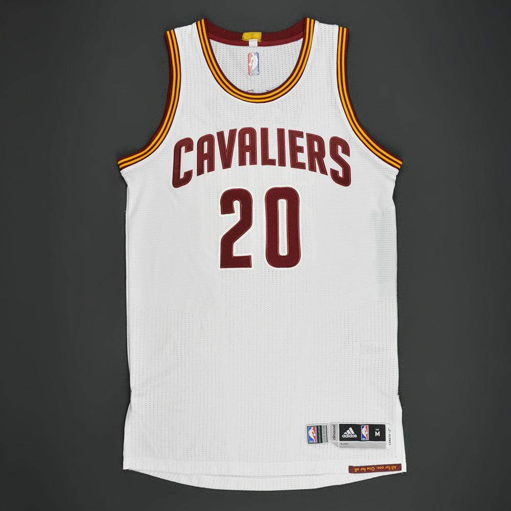 Kay Felder - Cleveland Cavaliers - White Playoffs Game-Issued Jersey - 2016-17 Season