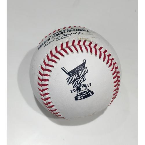 Photo of 2017 Home Run Derby Auction: Aaron Judge Home Run #23 Baseball - Round 1