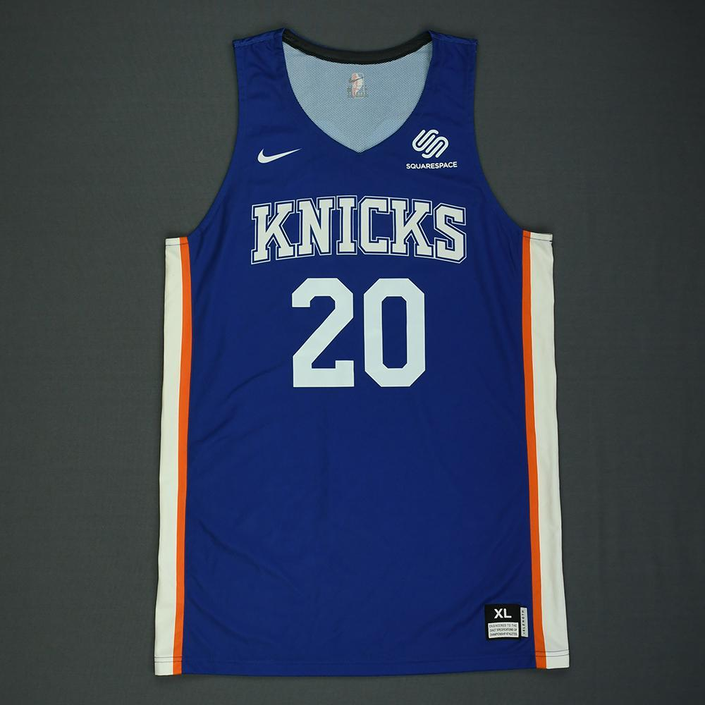 Kevin Knox - New York Knicks - 2018 NBA Summer League - Game-Worn Jersey - 22 Points