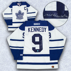 Ted Kennedy Toronto Maple Leafs Autographed Retro CCM Hockey Jersey