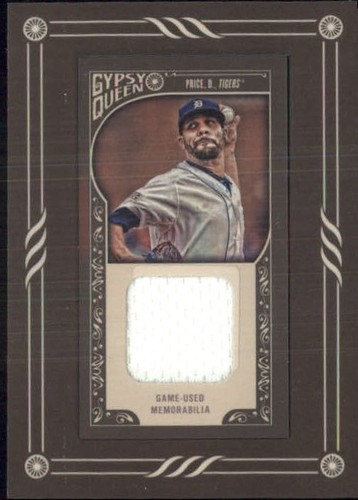 Photo of 2015 Topps Gypsy Queen Framed Mini Relics #GMRDP David Price